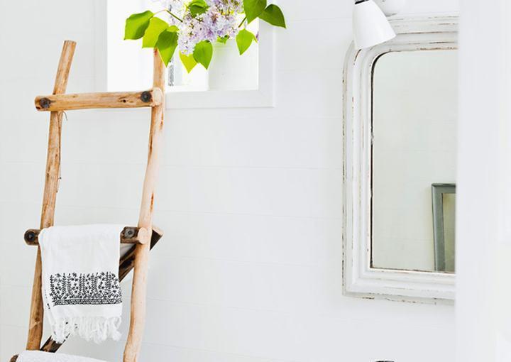 Towel rack: original and DIY