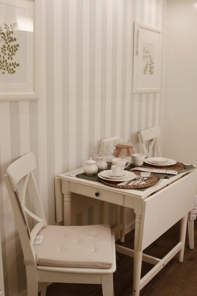 Rozkładany stół rustykalny IKEA