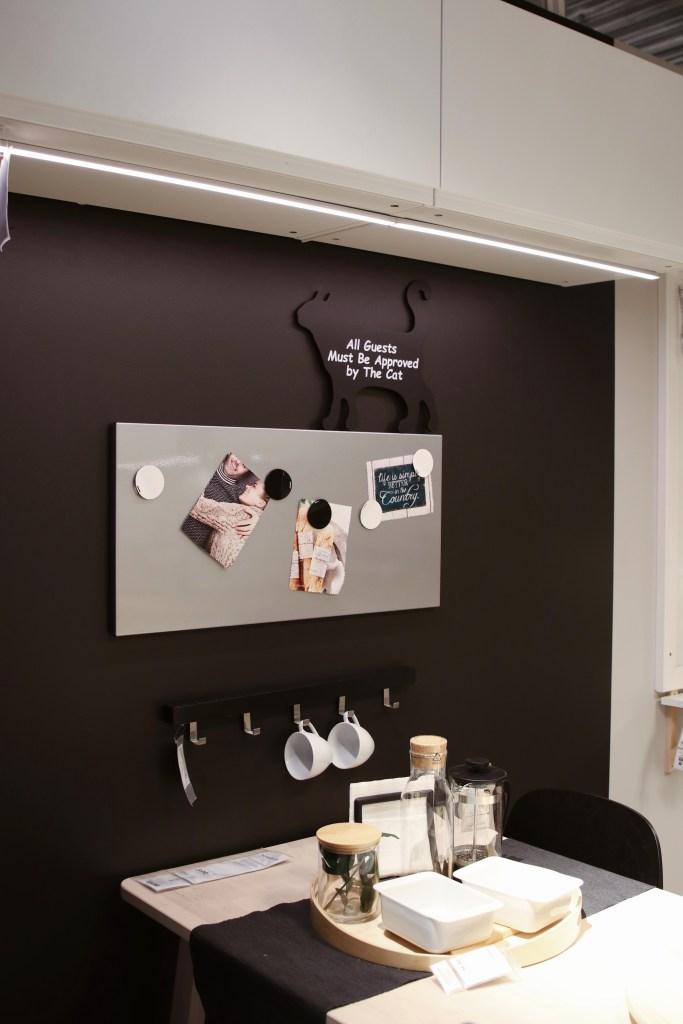 Tablica magnetyczna do jadalni IKEA