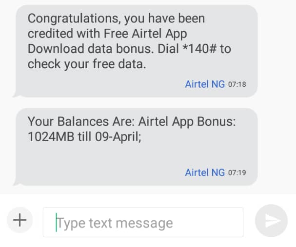 Get Free 1GB Data on Airtel NG and Vodafone GH