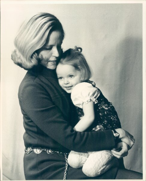 Little Susan and her beautiful mom