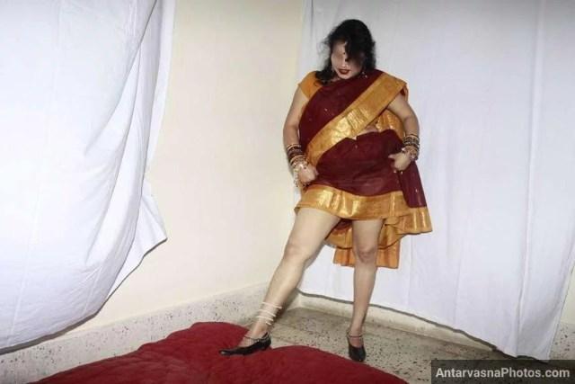 saree wali aunty nude indian sexy photo 3