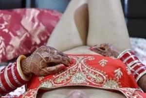 Newlywed desi Mumbai teasing