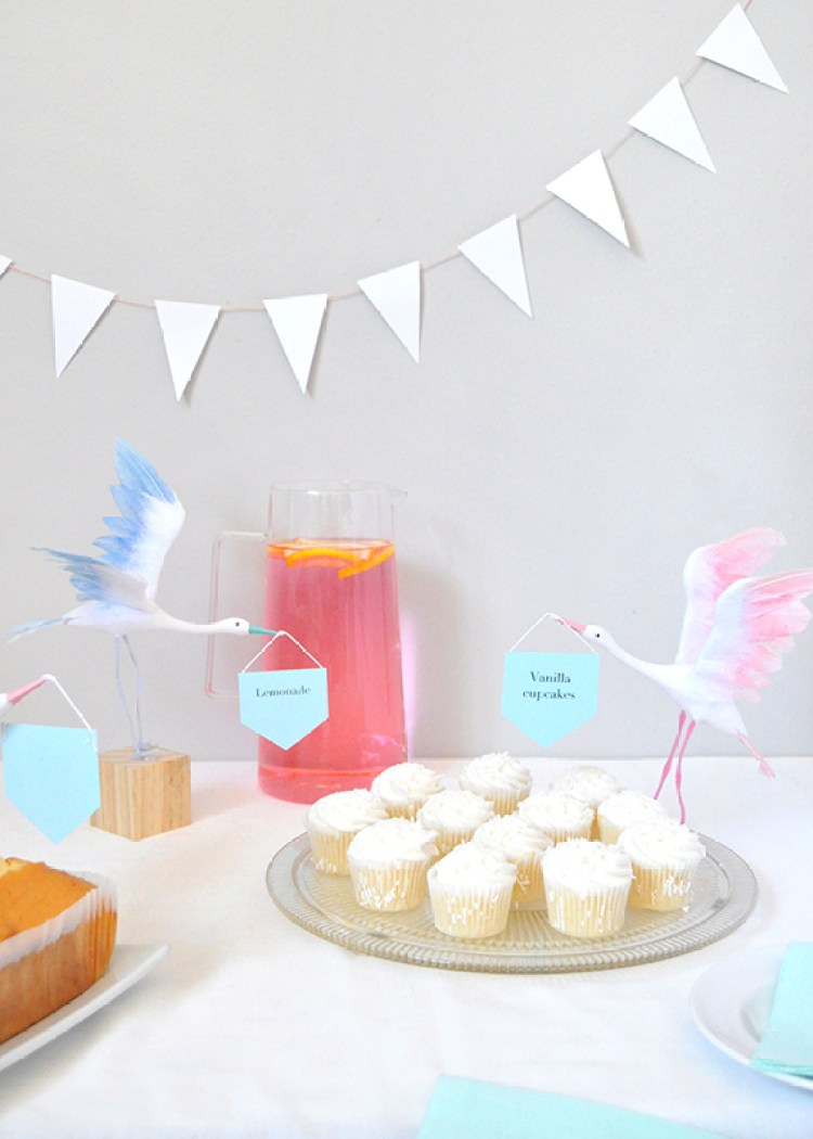 entertaining for a baby shower with minted
