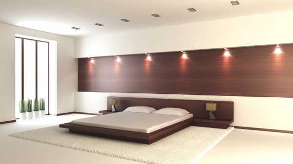дизайн спальни в современном стиле 1