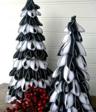 Amazing Black & White Christmas décor ideas11