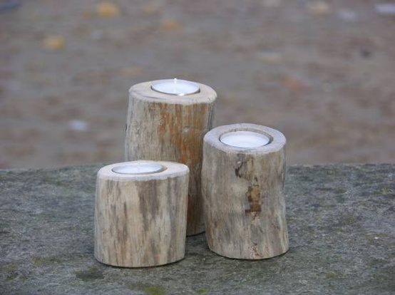Diy driftwood candles4