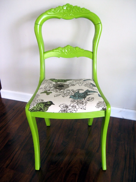 make an old chair modern3