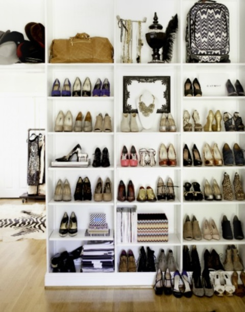 Creative storage ideas for shoes1