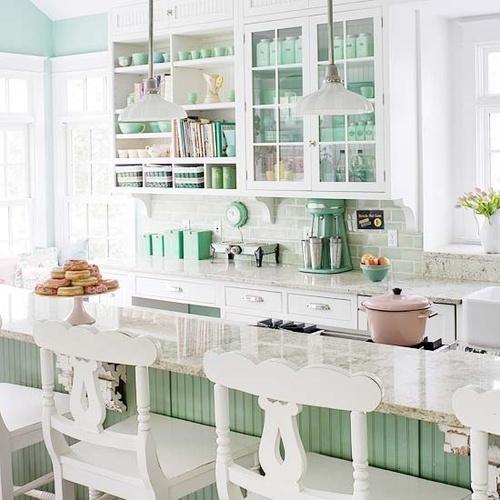mint kitchen ideas4