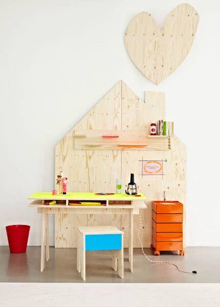 Fluorescent colors for nursery decoration3