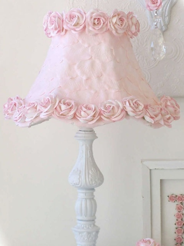 Girly table lamps ideas7