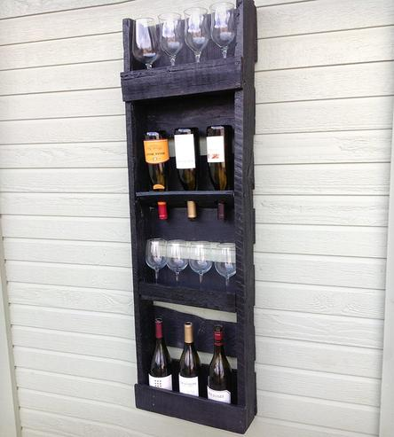 Diy wine racks made from Pallets1