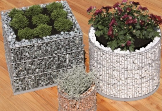 Diy craft ideas using wire mesh and Stones16