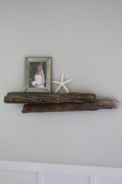 Best Diy Driftwood inspirations shelves