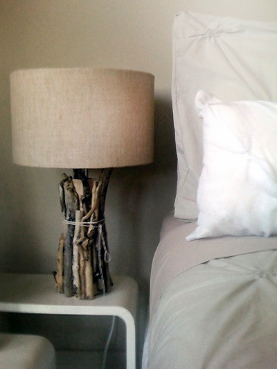 Best Diy Driftwood inspirations side table light