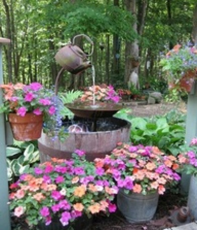 Fountains for garden