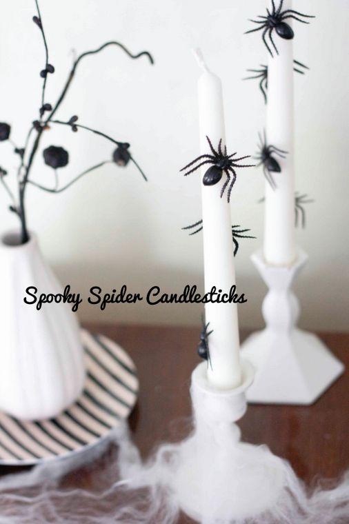 Black and white Halloween ideas1