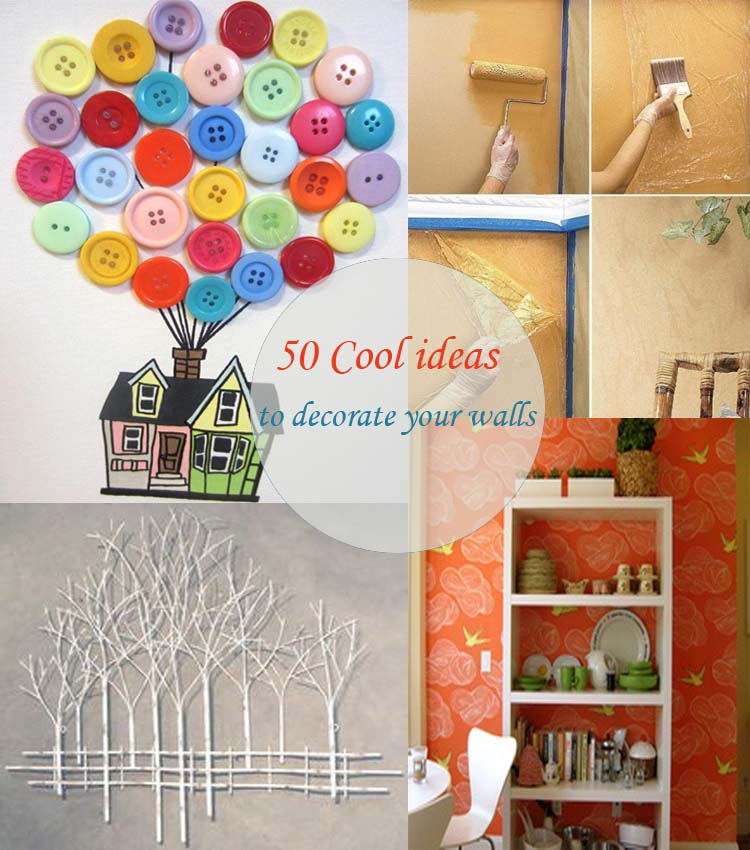 ideas to decorate your walls50