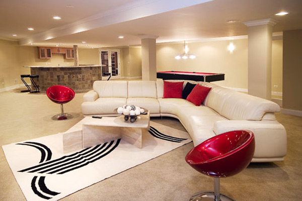 decorating ideas for remodeling basement16