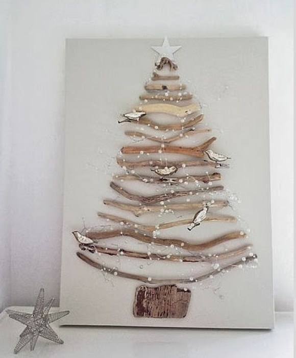 wooden Christmas tree ideas14
