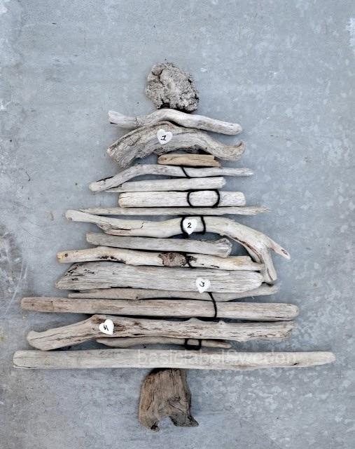 wooden Christmas tree ideas15