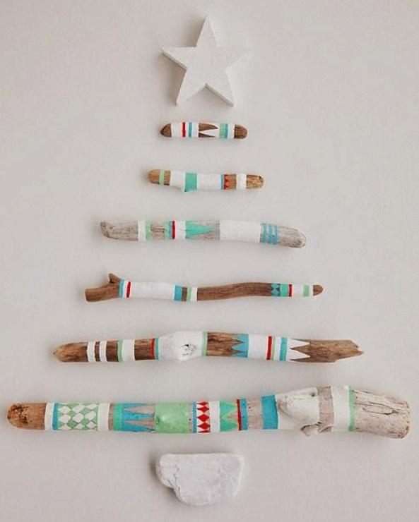 wooden Christmas tree ideas27