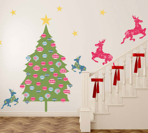 Diy adhesive Christmas Trees by Pixers5