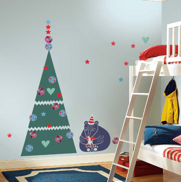Diy adhesive Christmas Trees by Pixers8