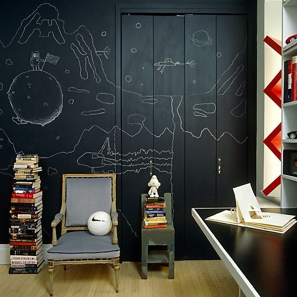 Blackboard in kids room2