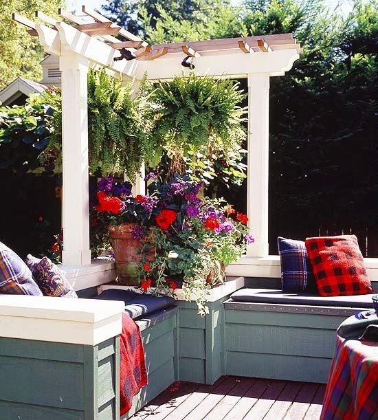 Ideas for small gardens - Balconies13