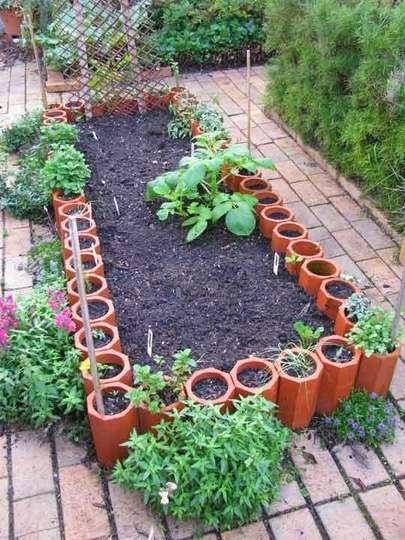 Ideas for small gardens - Balconies20