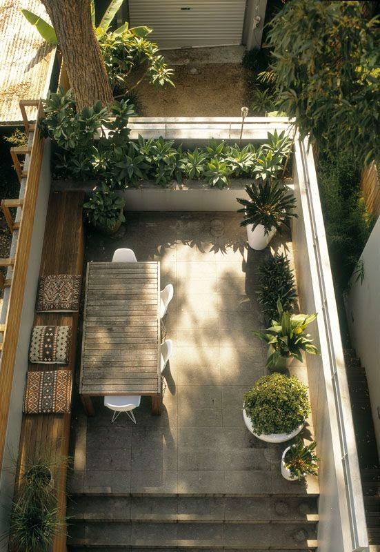 Ideas for small gardens - Balconies34