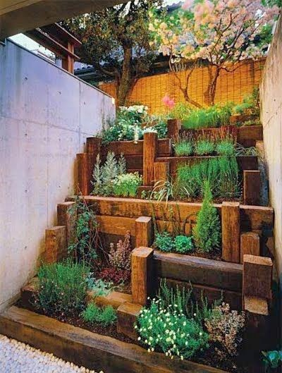 Ideas for small gardens - Balconies4