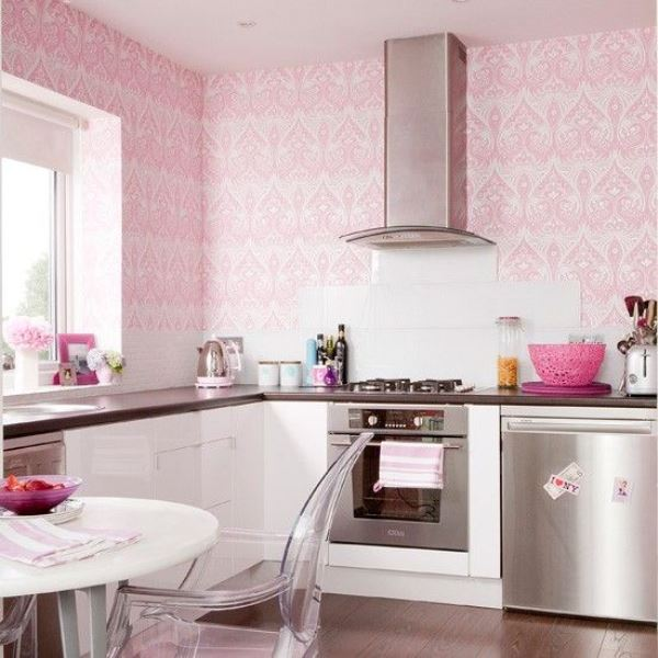 Wallpaper in the kitchen2