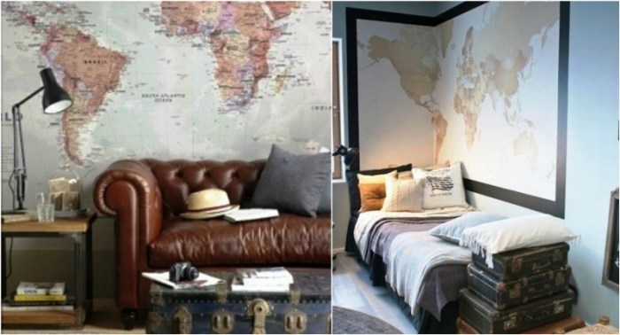 Maps as decorative objects1