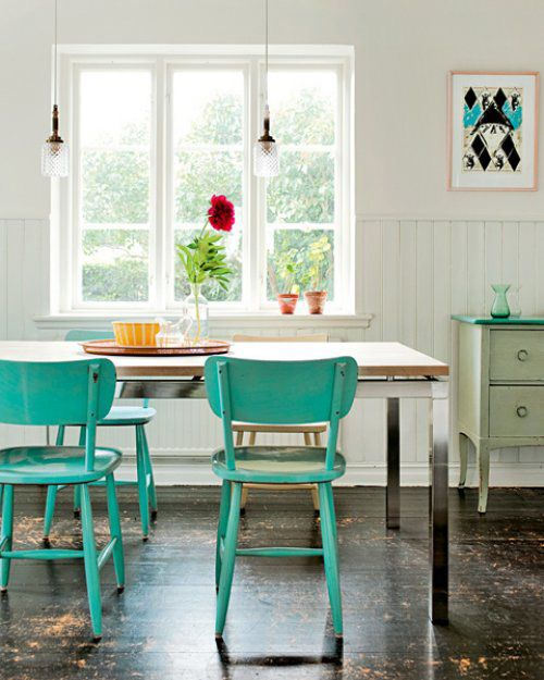 Choose turquoise to decorate14