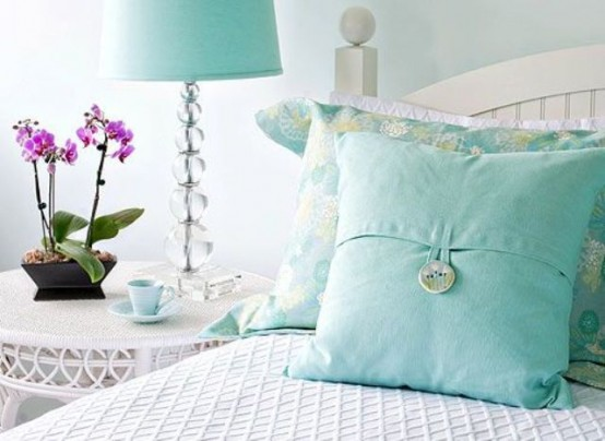 Choose turquoise to decorate15