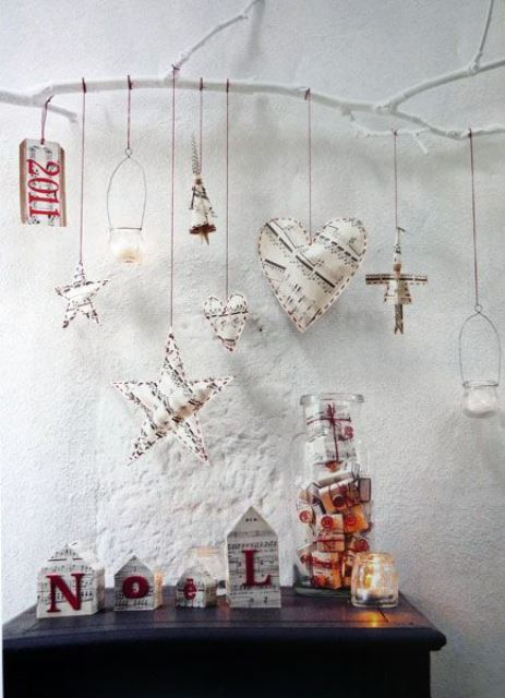 Rustic Crhistmas decor ideas10