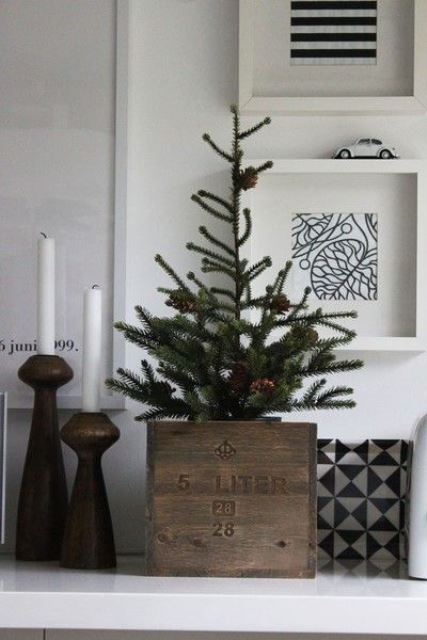 Rustic Crhistmas decor ideas9