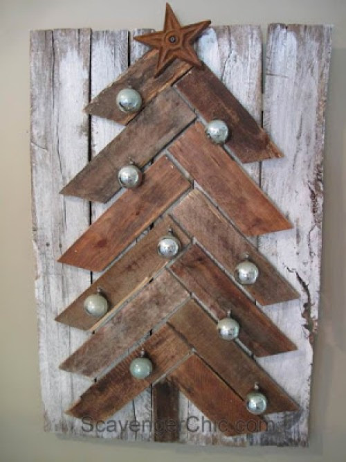 CHRISTMAS IDEAS with PALLETS7