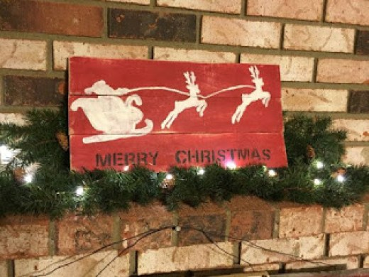 CHRISTMAS IDEAS with PALLETS9