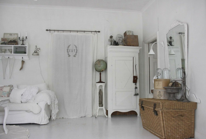 Shabby Chic, retro and industrial styles3