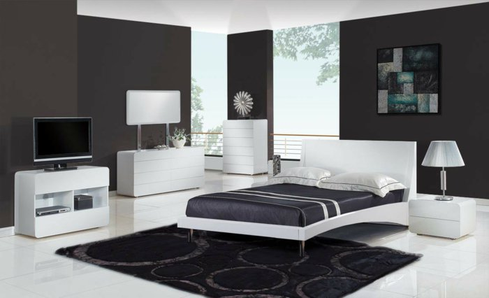 wall decoration ideas in dark shades24