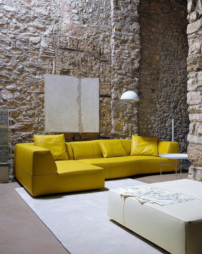 Exposed stone wall ideas26