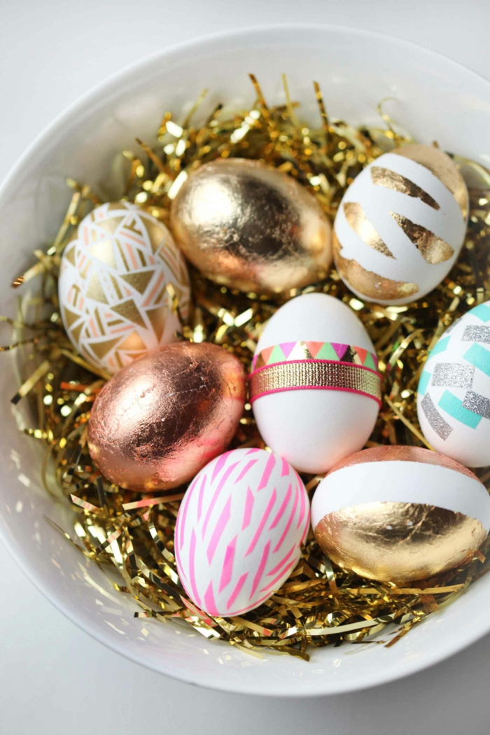 Diy Easter decoration ideas with Easter eggs29