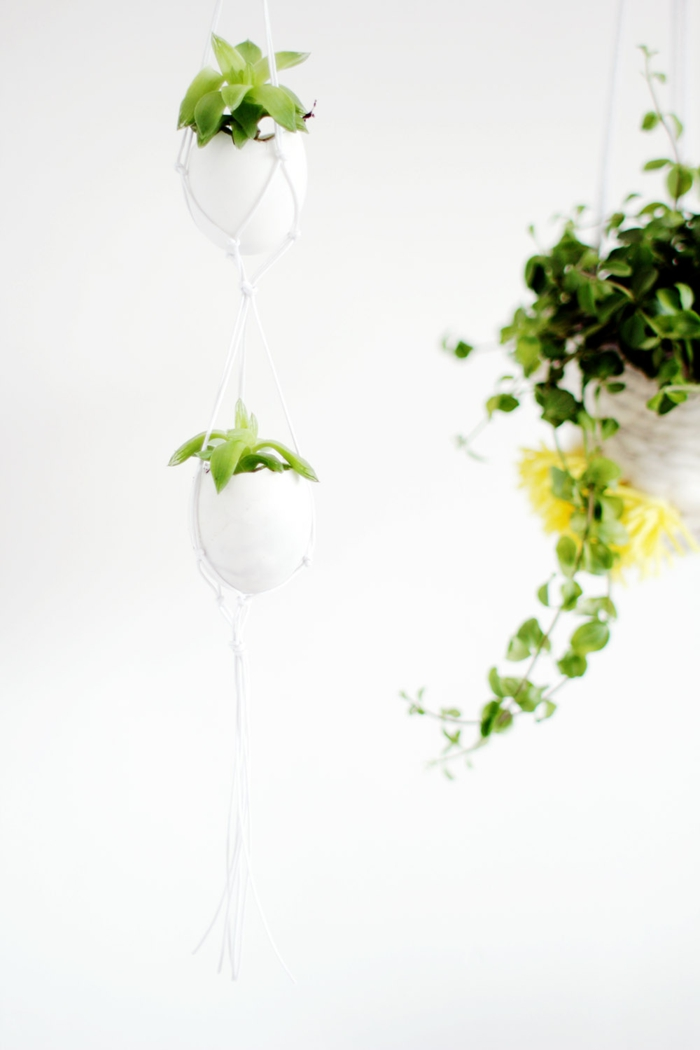 Diy Easter decoration ideas with Easter eggs36