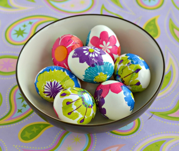 Diy Easter decoration ideas with Easter eggs8