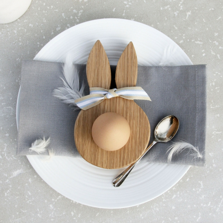 Easter decorations made of wood13