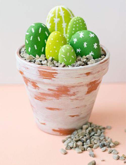 Diy Cactus from stones10